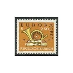 1 عدد تمبر مشترک اروپا - Europa Cept  - اتریش 1973