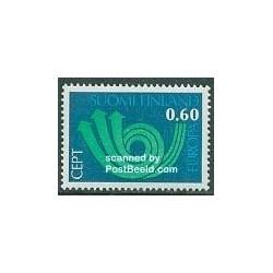 1 عدد تمبر مشترک اروپا - Europa Cept - فنلاند 1973
