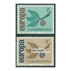 2 عدد تمبر مشترک اروپا - Europa Cept - لوگزامبورگ 1965
