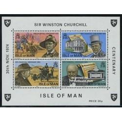 سونیرشیت وینستون چرچیل  - جزیره من 1974