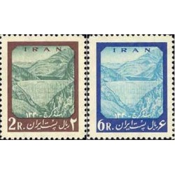 1149 - تمبر افتتاح سد امیرکبیر (کرج) 1341 تک