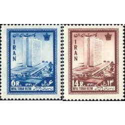 1182 - تمبر افتتاح هتل هیلتون - تهران 1341 تک