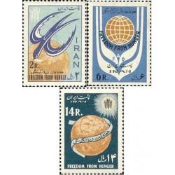 1191 - تمبر هفته نجات دنیا از گرسنگی 1342 تک