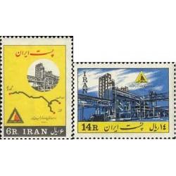1208 - تمبر افتتاح کارخانه کود شیمیایی 1342 تک