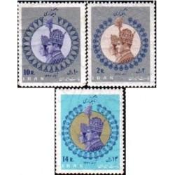 1389 - تمبر تاجگذاری محمد رضا پهلوی 1346