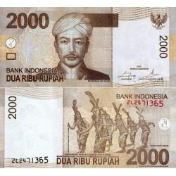 اسکناس 2000 روپیه - اندونزی 2014