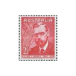 3 عدد تمبر ویلیام فرر - کشاورز و متخصص اصلاح نژاد - استرالیا 1948