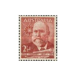 1 عدد تمبر لرد جان فارست - سیاح و وزیر کابینه - استرالیا 1949