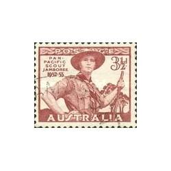 1 عدد تمبر مجمع پیشاهنگان اقیانوس آرام - استرالیا 1952