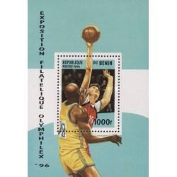 سونیرشیت المفیلکس - نمایشگاه تمبرهای ورزشی و المپیک - بنین 1996