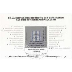 سونیرشیت بازداشتگاه اسرای جنگی - ممهور به مهر روز انتشار - جمهوری فدرال آلمان 1995