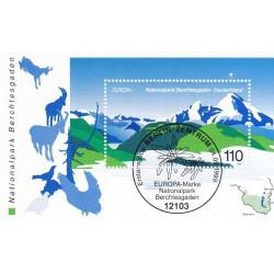 سونیرشیت پارک ملی برشست گادن - ممهور به مهر روز انتشار - جمهوری فدرال آلمان 1999