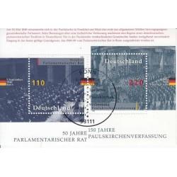 سونیرشیت مجلس شورا - ممهور به مهر روز انتشار - جمهوری فدرال آلمان 1998