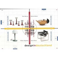 سونیرشیت طراحی آلمان - ممهور به مهر روز انتشار - جمهوری فدرال آلمان 1998