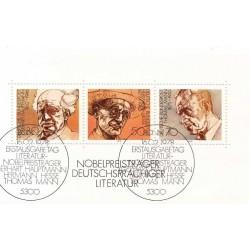 سونیرشیت برندگان نوبل ادبیات - ممهور به مهر روز انتشار -- جمهوری فدرال آلمان 1978