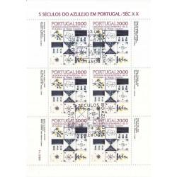 مینی شیت کاشیها - ممهور به مهر روز انتشار - پرتغال 1985