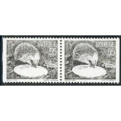 2 عدد تمبر سری پستی - جفت بوکلت - سوئد 1975