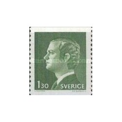 1 عدد تمبر سری پستی - سوئد 1976