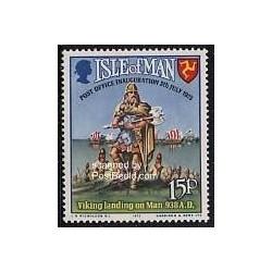 1 عدد تمبر فرود وایکینگ 938 قبل از میلاد - جزیره من 1973