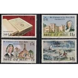 4 عدد تمبر کریستمس - جزیره من 1975
