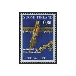 1 عدد تمبر مشترک اروپا - Europa Cept - فنلاند 1976
