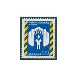 1 عدد تمبر ایمنی اروپائیان در کار - جمهوری فدرال آلمان 1993