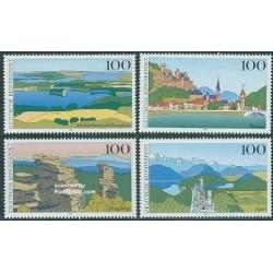 4 عدد تمبر مناظر - جمهوری فدرال آلمان 1994
