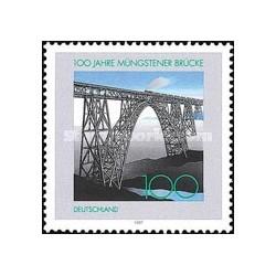 1 عدد تمبر پل مانگستنر - جمهوری فدرال آلمان 1997