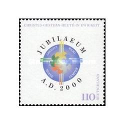1 عدد تمبر سال 2000 - جمهوری فدرال آلمان 2000