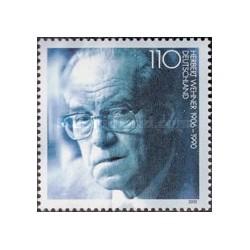 1 عدد تمبر هربرت وهنر - سیاستمدار - جمهوری فدرال آلمان 2000