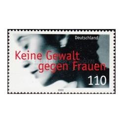 1 عدد تمبر کمپین مبارزه با خشونت علیه زنان - جمهوری فدرال آلمان 2000