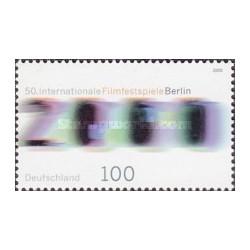 1 عدد تمبر پنجاه سالگرد فستیوال فیلم برلین - جمهوری فدرال آلمان 2000