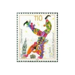 1 عدد تمبر 175مین سال کارناوال دوسلدورف - جمهوری فدرال آلمان 2000