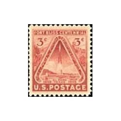 1 عدد تمبر صدمین سال سکوی پرتاب موشک فورد بلیز - آمریکا 1948